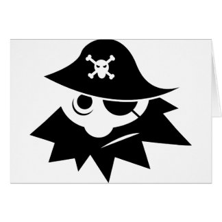Pirate Greeting Cards