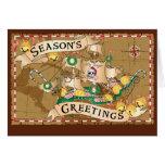 Pirate Greetings Card