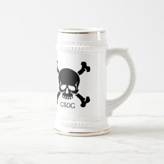 Pirate Grog Stein Tankard