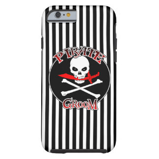 Pirate Groom iPhone 6 Case
