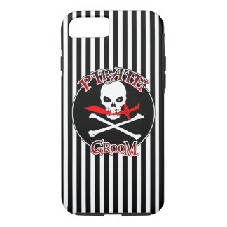 Pirate Groom iPhone 7 Case