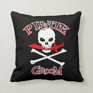 Pirate Groom Pillow