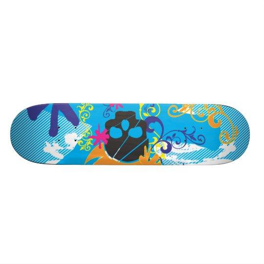 Pirate-Grunge-Graphics.ai Skateboard Deck