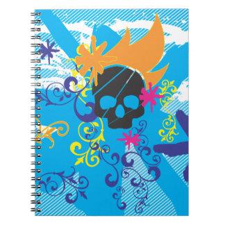 Pirate-Grunge-Graphics.ai Spiral Note Books