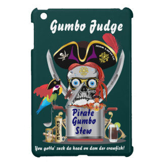 Pirate Gumbo logo All Styles View Hints Cover For The iPad Mini