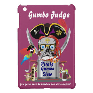 Pirate Gumbo logo All Styles View Hints iPad Mini Cases