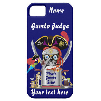 Pirate Gumbo logo All Styles View Hints iPhone SE/5/5s Case