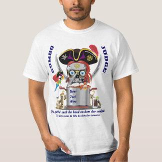 Pirate Gumbo Men All Styles Light View Hint T-Shirt