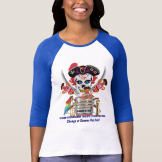 Pirate Gumbo Queen IMPORTANT Read About Design T-Shirt
