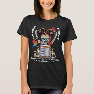 Pirate Gumbo Women All Styles DARK View Hint T-Shirt
