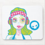 Pirate Gurl Mousepad