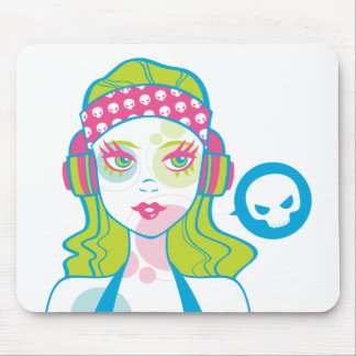 Pirate Gurl Mousepad