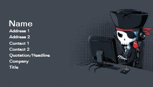 Hacker Business Cards Zazzle