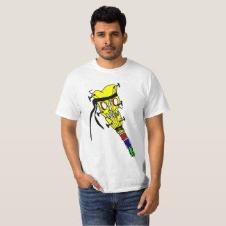 Pirate Head Guitar 4 T-Shirt