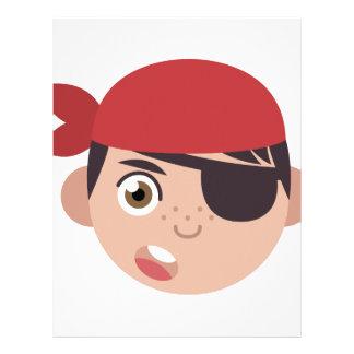 Pirate Head Letterhead