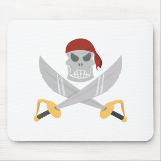 Pirate Head Mouse Pad