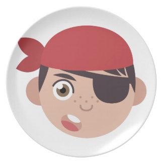 Pirate Head Plate