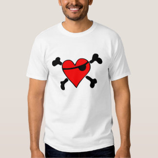 Pirate Heart Camisas