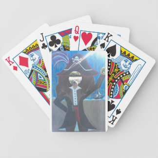 pirate hedge bicycle playing cards