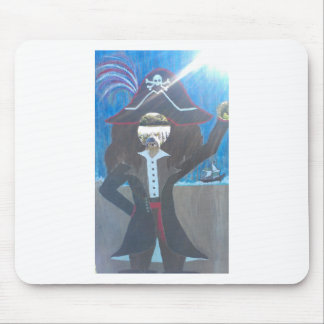 pirate hedge mouse pad