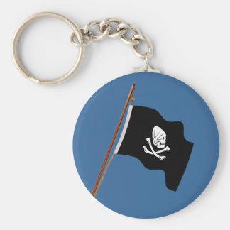 Pirate Henry Every Jolly Roger Flag hoist Keychain