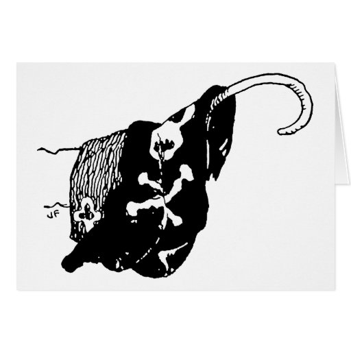 Pirate Hook Greeting Card