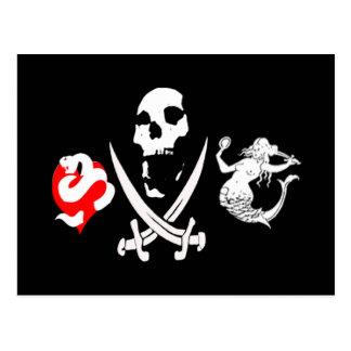 Pirate Icon #13 Postcard
