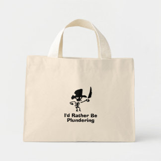 Pirate Id rather be plundering Tote Bag