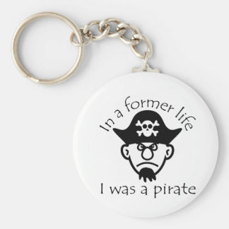 Pirate in Former Life Keychain