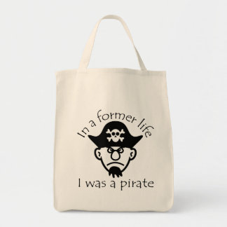 Pirate in Former Life Tote Bag