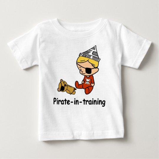 Pirate in Training baby t-shirt