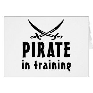 Pirate In Training Card