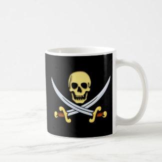 Pirate indication logo of pirates sign coffee mug