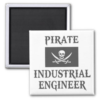 Pirate Industrial Engineer Refrigerator Magnets