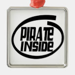 Pirate Inside Christmas Tree Ornaments