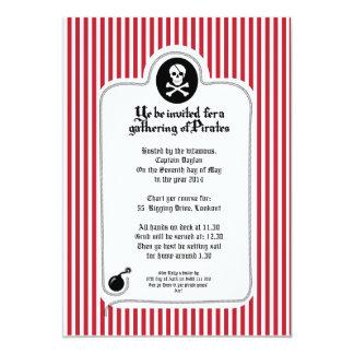 Pirate Invitation