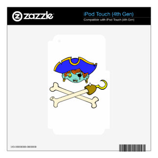 pirate iPod touch 4G decal