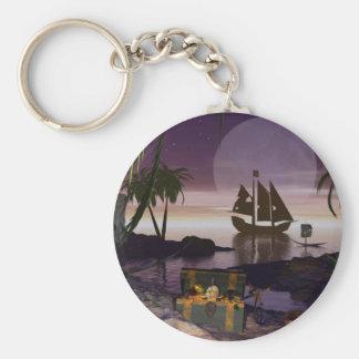 Pirate Island Keychain