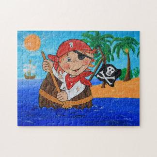 Pirate island jigsaw puzzle