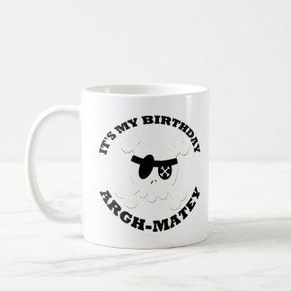 Pirate Its My Birthday Coffee Mug