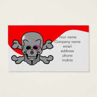 Pirate, Jolly Roger Business Card