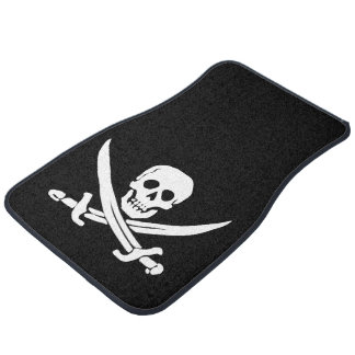 Pirate Jolly Roger Car Mat