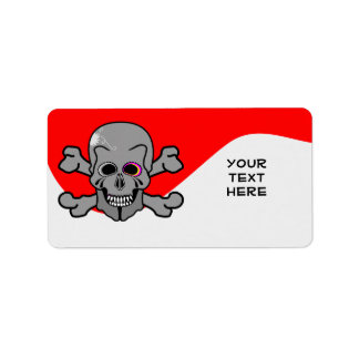Pirate, Jolly Roger Label