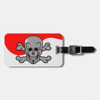 Pirate, Jolly Roger Travel Bag Tags