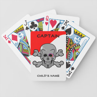 Pirate, Jolly Roger Bicycle Playing Cards