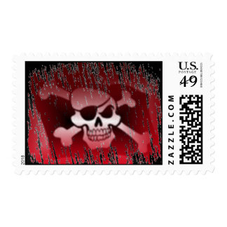 Pirate Jolly Roger Postage