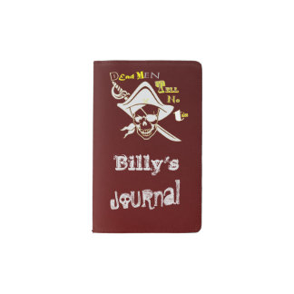 Pirate Journal Red