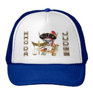 Pirate Judge Contraband Days Trucker Hat