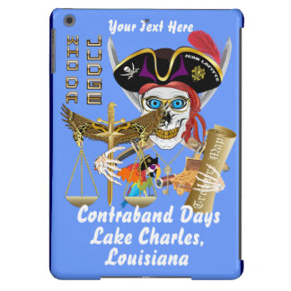 Pirate Judge Contraband Days View about Design iPad Air Cases