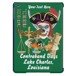 Pirate Judge Contraband Days View about Design Case For iPad Air